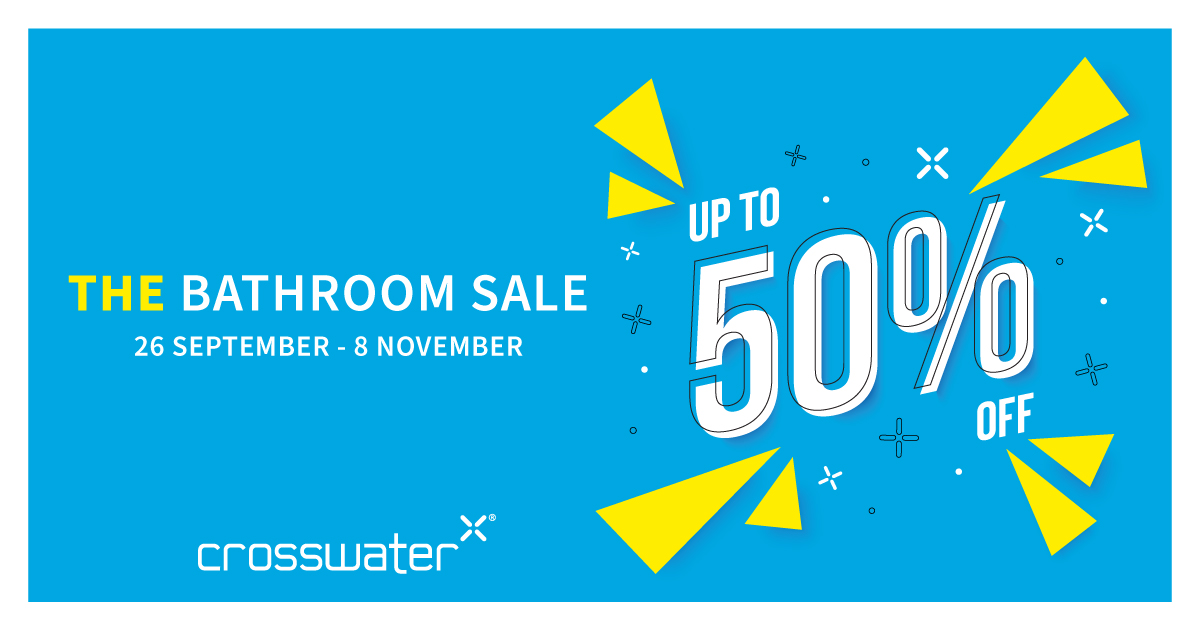 Crosswater Sale