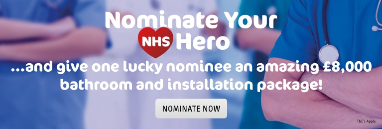 NHS Hero Competition Banner